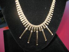 Estate 14 kt. Fancy Gold Collar Necklace Choker