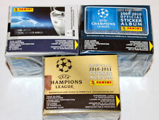 Panini CHAMPIONS LEAGUE SET 3 x 1 DISPLAY BOX CAJITA 08/09 09/10 10/11 MINT!