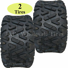 TWO 20X10.00-10 20X10-10 20/10-10 Golf Cart Go Kart ATV TIRE Barrage 4ply DOT