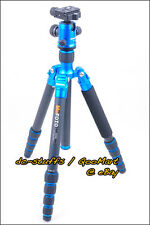 MeFoto RoadTrip A1350Q1 Aluminium Tripod Monopod Kit BLUE  * EXPRESS SHIP