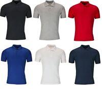 Mens Polo Shirt Short Sleeve Plain Pique Top Designer Style Fit T Shirt Tee shir