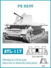1/35 ATL117 FRIULMODEL METAL TRACK FOR GERMAN PANZER III & IV - PROMOTE