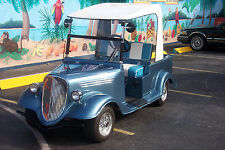 CLUB CAR GOLF CART 33' STREET ROD BODY KIT FRONT AND REAR WITH LIGHTS