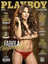 (D) PLAYBOY MEXICO FABIOLA CAMPOMANES OCTUBRE OCT 2013 PLAYBOY MEXICAN EDITION