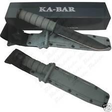 Ka-Bar KaBar Fighting/Utility Foliage Green Fixed Plain 5011