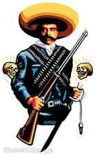 Zapata Sticker Decal Poster Artist Marco Almera MA17