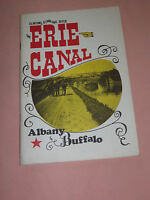 VINTAGE BOOK 1977 ERIE CANAL ALBANY TO BUFFALO BOOKLET BY JOHN P PAPP