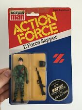 Action Force Z Force Sapper MOC MOSC Carded Palitoy Gi Joe Vintage