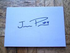 Mid West All Star Game Jermaine Palacios 4x6 AUTO IP Cedar Rapids Kernels