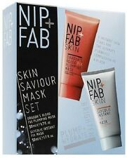 Nip + Fab Skin Saviour Mask Set - Dragons Blood Plumping Mask + Glycolic Mask
