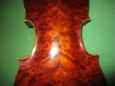 Fine Old Antique 1880 Vintage German Amati 4/4 Violin-HUGE Warm Sound-Free Ship!