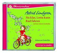 ASTRID LINDGREN - NA KLAR,LOTTA KANN RADFAHREN UND EINE WEITERE GE  CD NEU