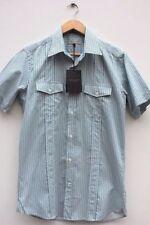 Camisas y polos de hombre de manga corta Ted Baker color principal azul