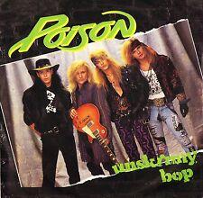 "POISON unskinny bop/swampjuice/valley of lost souls CL 582 uk 1990 7"" PS EX/EX-"