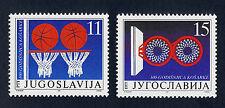 Yugoslavia 2104-5 MNH Sports, Basketball
