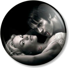 "Bill Compton & Sookie Stackhouse True Blood 1"" Pin Button Badge Vampires TV Show"
