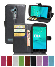 PU Leather slot wallet stand Cover Skin Case For Asus ZENFONE GO ZB500KG/ZB500KL