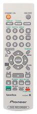 Nuevo Pioneer DVR433H-S DVR433H DVR433HK VXX3048 Control Remoto (Genuino Original)