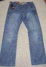 Jeans da uomo taglio classico, dritto Blu Taglia 36