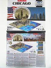 4D Cityscape Time Puzzle Chicago