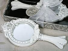 25 Cinderella Fairytale Princess Tiara Crown Mirror Bridal Sweet 16 Quince Favor