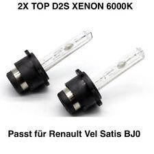 2x D2S 6000K 35w Xenon Ersatz Brenner  Renault Vel Satis BJ0