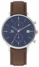 Danish Design Mens Tidlos Koltur Chrono Watch - Brown/Blue