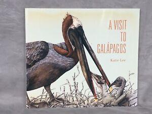 A Visit to Galápagos Katie Lee Wildlife Art Book Abrams 1994