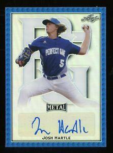 2020 Leaf Metal PG Blue Josh Hartle RC Autograph Auto 10/30 WAKE FOREST