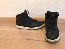 Nike Air Jordan 1 I schwarz / weiß / grün) EU 45 / US 11 / UK 10 OG