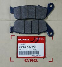 GENUINE HONDA FRONT BRAKE PAD SET KIT TO FIT NSS 125 FORZA 2014 - 2020