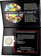 Coyolxauhqui: The Aztec Moon Goddess Coin of Mexico With Album & Certificate