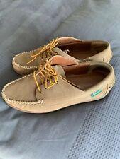 Eastland Fletcher 1955 Camp Moc suede Oxford Deck shoe UK 11 45