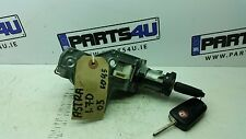 2005 OPEL ASTRA 1.7D IGNITION LOCK KEY AND SWITCH N0501881 2421430 35785C214A