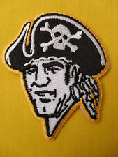 Vintage 1970`s Pirates logo patch