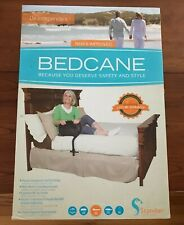 Stander BedCane Adult Home Bed Safety Rail & Handle - Black