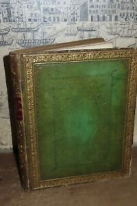 1841 FISHER'S DRAWING ROOM SCRAP-BOOK 36 STEEL PLATES BY HOWITT ANTIOCH GANGES *
