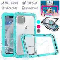 For iPhone 11 Pro Max Waterproof Shockproof Diving Underwater Hard Case Cover