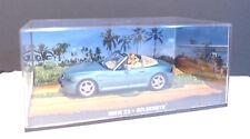 Modellauto 1:43, James Bond 007 BMW Z3 mit Diorama Goldeneye 521