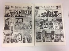 The Spirit 1972 Will Eisner collectors' editions set of 10 June 2 1940 through A
