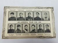 Antique Football All America Team Clipping 1902 Ivy League Spalding College Ball