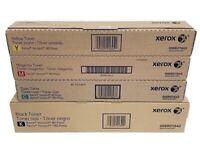Genuine Xerox Versant 80 Press/180 Press Toner SetCMYK
