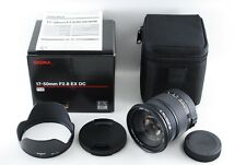 Near Mint!! Sigma 17-50mm F2.8 EX DC HSM Pentax from Japan A261