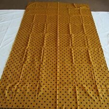 SWEET CARAMEL Fabric Sari MATERIAL Sewing DRESS SUIT Craft DECORATION Project