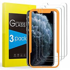 PELLICOLA VETRO TEMPERATO [3 PEZZI] per Iphone 11/Pro Max + TOOL INSTALLAZIONE