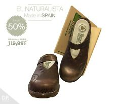El Naturalista Damen Sandale Bequemlichkeit Gummisohle Echtleder **Made in ESP