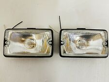 PEUGEOT 205 GTI Driving Lights Lampes New Clear Lens/Clear Glass