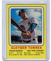 """2018 Topps Heritage '69 Collector #69CC-GT """"Gleyber Torres"""" RC @LOOK@  """"Mint +"""""""