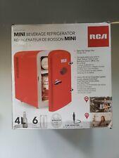 RCA Mini Compact Refrigerator - Red RMIS129-RED