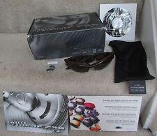 Oakley Thump Pro (256 MB) Sunglasses Brown Smoke Frames Dark Bronze Lens w/ Box